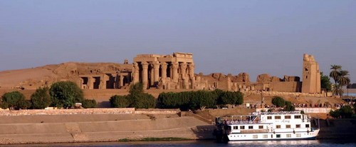 Egypt Nile cruise Edfu temple