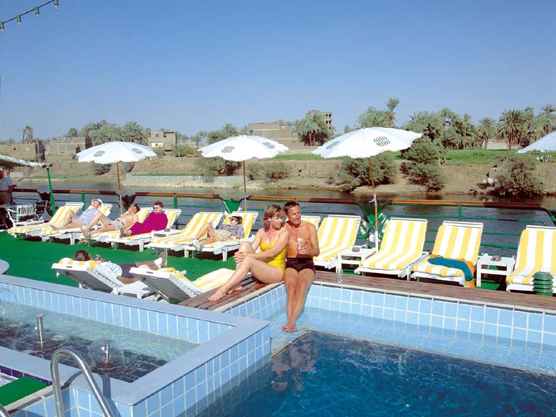 Nile dolphin nile cruise for River cruise ships with swimming pool